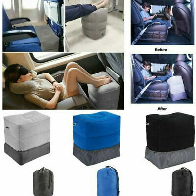 AU20.99 • Buy Relax Inflatable Foot Rest Travel Air Pillow Cushion Office Leg Up Footrest AU