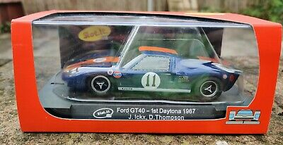 Scalextric Slot It Ford Gt40 Daytona 1967 Ex Racer Boxed CA18d • 13.50£