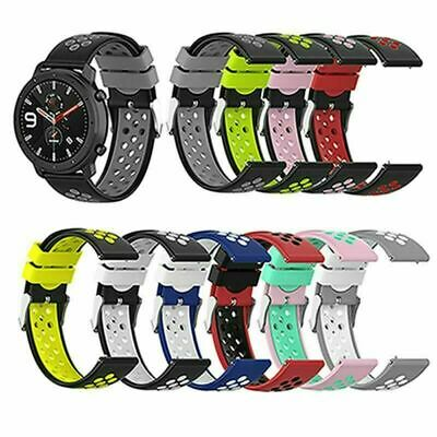 £3.67 • Buy 22mm For Samsung/Ticwatch/Huawei/Huami Silicone Band Strap Bracelet Accessories