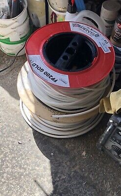 75m + FP200 1.5mm & 60+Metre Reel Of 2.5mm - 2 Core And Earth FP200 Gold Cable. • 25£