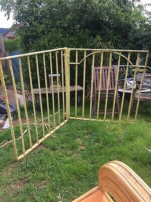 Wrought Iron  Double Driveway Gates With Posts • 65£