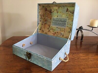 Storage Treasure Box Chest Trunk With Lid Very Large Jewellery Display Craft Box • 12£