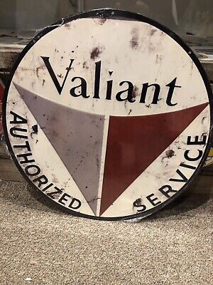 AU85 • Buy Valiant Authorized Service Reproduced Metal Sign