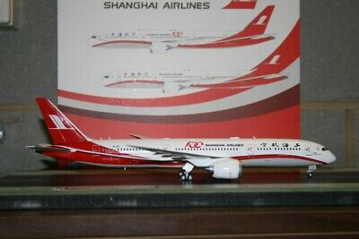 AU198 • Buy JC Wings 1:200 Shanghai Airlines Boeing 787-9 B-1111 (LH2128) Model Plane