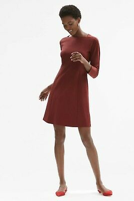 $ CDN80.42 • Buy NWT MM LaFleur Jeanette Dress Cherrywood Size 4 Long Sleeve Aline Career