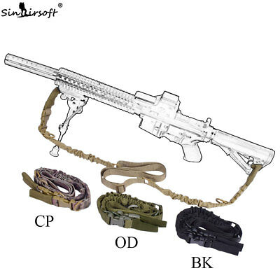 $ CDN15.69 • Buy Tactical 2Two Dual Point Sling Adjustable Bungee Hunting Rifle Gun Airsoft Strap