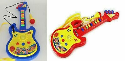 Childrens Kids Childs Easy Play Toy Musical Guitar In Retail Box New • 8.99£