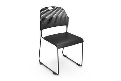 AU88 • Buy Lozza Chair Sled Base - Plastic Seat And Back