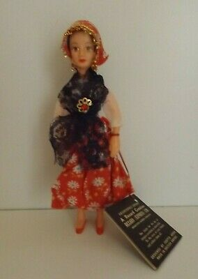 Vintage Rexard Costume Doll - Miss Sicily - With Tag - Made In British Empire! • 12.99£