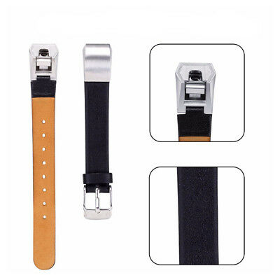 AU33.62 • Buy Replacement Watch Strap Belt For Fitbit Alta Band Leather Wristband Adjustable