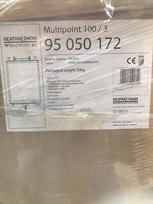 Heatrae Sadia Unvented Direct Water Heater Multipoint 100/3 100 Litre  950050172 • 800£