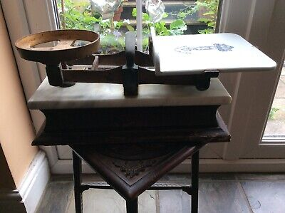 Large Antique Butchers Scales Fairburn Bros Maidstone Limited • 245£