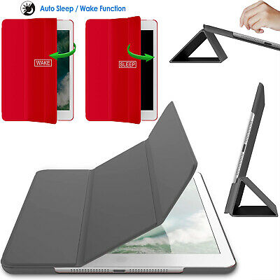 £5.99 • Buy Leather Slim Smart Stand Case For Apple IPad Pro 12.9  2015 2017 2018 Book Cover