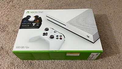 $249.99 • Buy Microsoft Xbox One S Halo Collection Bundle 500GB White Console