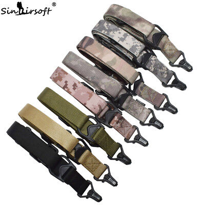 $ CDN15.67 • Buy Tactical 2 Two Point Rifle Sling Multi-function Multimission Quick Release Strap
