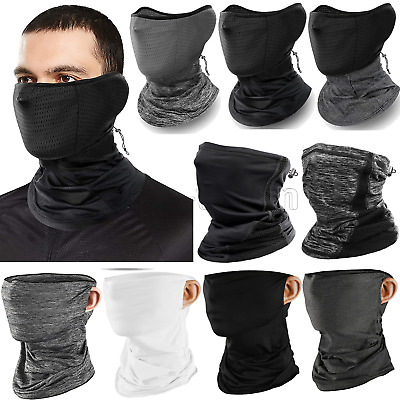 $10.99 • Buy Balaclava Face Mask Neck Gaiter Tube Bandana Scarf Reusable Washable Breathable