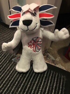 Official Team GB Pride The Lion Mascot Soft Toy London 2012 Olympic Games • 2.25£