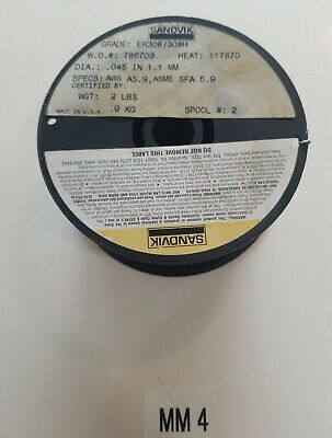 $20 • Buy *NEW* Sandvik Stainless Steel Welding Wire.045 1.1mm ER308/308H AWS A5.9