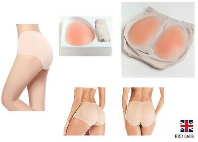 £11.90 • Buy Silicone Butt Lifter Pads Panty Booty Bum Enhancer Hip Knickers Body Shaper UK