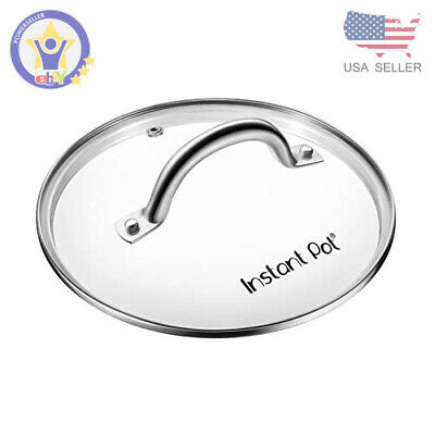 $17.98 • Buy Genuine Instant Pot Tempered Glass Lid, 9 In. (23 Cm), 6 Quart, Clear
