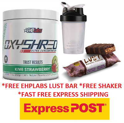 AU72.49 • Buy Ehplabs Oxy Shred Ehp Labs Oxyshred Thermogenic All Flavours Free Express Cheap