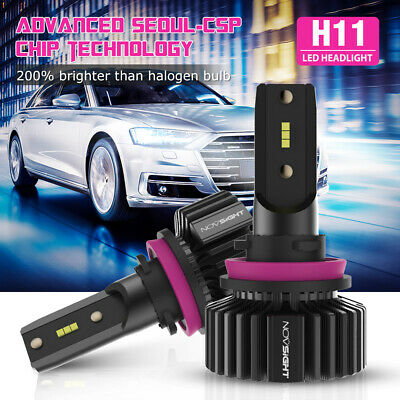 AU35.89 • Buy NOVSIGHT DOT H11/H8/H9 50W 10000LM LED Headlight Bulbs CSP 6500K High/Low Beam