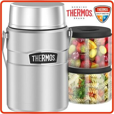 AU69.95 • Buy ❤ Thermos Big Boss STAINLESS STEEL Vacuum Insulated Food Jar Container 1.39L ❤