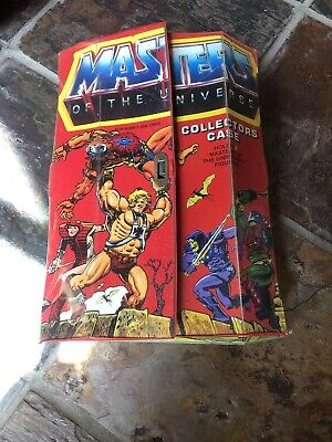 $24.99 • Buy Masters Of The Universe 8 Figure Collectors Case 1984 With 2 Trays MOTU Mattel