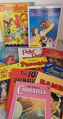 Bundle Of 11 Disney Books Disneyland Annual Joblot Vintage  • 15.95£