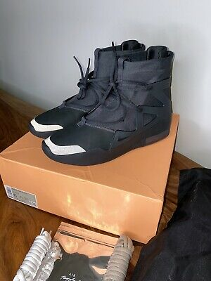 $319 • Buy Nike Air Fear Of God 1 Triple Black Size 11us *Never Been Worn*