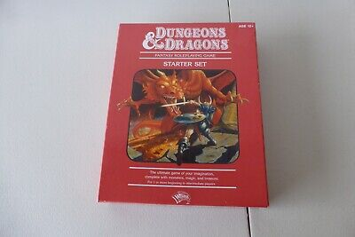 AU230 • Buy DUNGEONS & DRAGONS Starter Set Red Box (2011) - Rare NEW D&D RPG AD&D Wizards