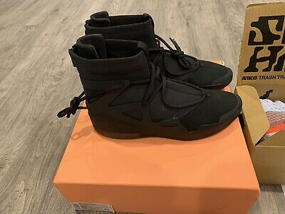 $430 • Buy Nike Air Fear Of God 1 Triple Black   Size 12   Brand New Authentic