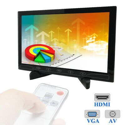 10  TFT LCD Monitor HD Screen HDMI AV For PS3 PS4 XBOX360 SWITCH Game Display • 59.99£