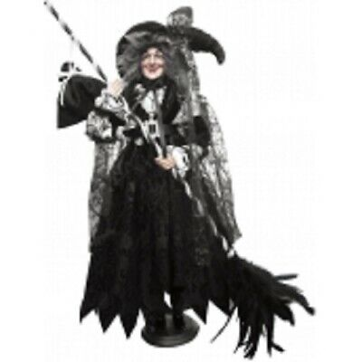 Witches Of Pendle *clarissa  Black 50cm Standing Witch  Info Book Pagan/ Occult • 49.95£