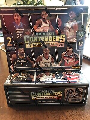 $865 • Buy 2019-20 Panini Contenders Basketball First Off The Line FOTL Box - Zion, Ja RC