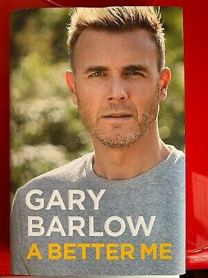 Brand New *Signed* Gary Barlow A Better Me Book • 10£