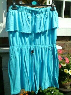 Atmosphere - Bandeau Playsuit - Pockets - Turquoise - 20 • 8.99£