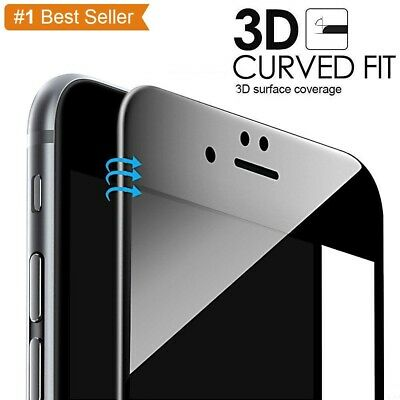 Full Cover 3D Tempered Glass Screen Protector Film For Apple IPhone 6 6S 7 8PLUS • 1.99£