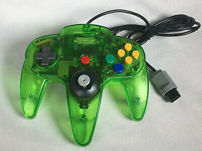 $ CDN33.24 • Buy N64 Controller Gamepad Joystick For Nintendo 64 Video Game Console Jungle Green
