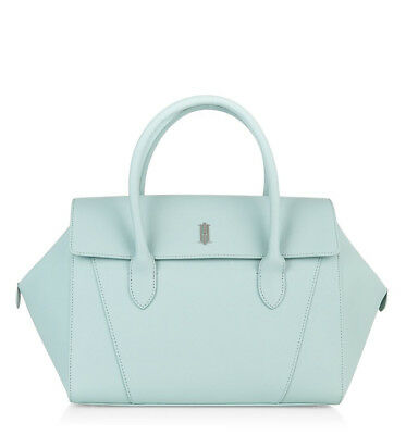 Hobbs Guildford Bag In Mint Blue Made Of Saffiano Leather BNWT • 129.99£
