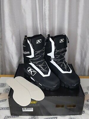 $ CDN301.52 • Buy NEW Klim Aurora GTX Snowmobile, Snow Boots, Black, Womens 9, 4085-001 FREE SHIP!