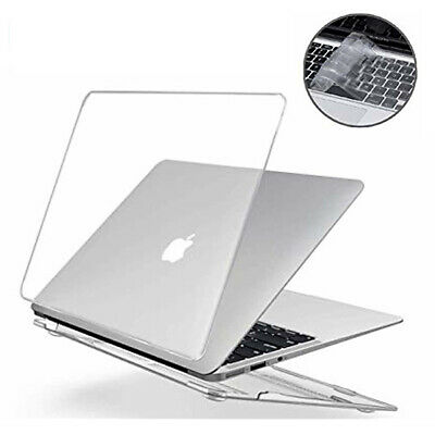 AU16.95 • Buy Macbook Air Pro Glossy Crystal Clear Case + Keyboard Cover 11  12'' 13  16  Inch