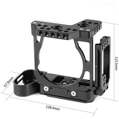 $ CDN134.53 • Buy SmallRig Half Cage Camera With Arca-Type L-Bracket For Sony A7 III And A7R III