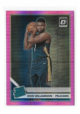 $49.99 • Buy 2019-2020 Donruss Optic Zion Williamson Rated Rookie #158 - Hyper Pink Parallel