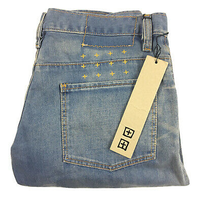 AU99.95 • Buy Ksubi Women's Wide Leg Dusty Birken  Blue Denim Jeans Tag Size 27 NEW With Tags