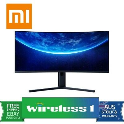 AU619 • Buy Xiaomi Mi Curved 34  144Hz WQHD 21:9 FreeSync Gaming Monitor [Official AU Stock]