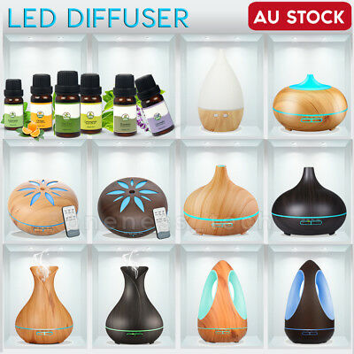 AU13.09 • Buy Aroma Aromatherapy Diffuser LED Oil Essential Ultrasonic Air Humidifier Purifier
