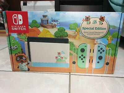 AU645 • Buy Nintendo Switch Animal Crossing New Horizons Special Edition Console  AUS Stock