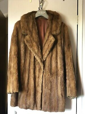 Real Fur Coat Vintage 1920s • 45£
