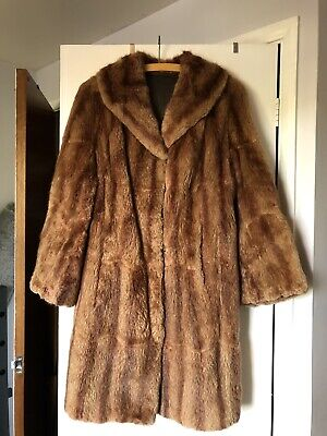 Vintage Real Fur Coat 1920s • 45£